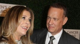 زوجة توم هانكس.. هكذا ساعدني في الشفاء من سرطان الثدي