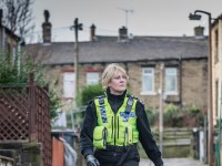 Programme Name: Happy Valley -  TX: n/a -  Episode: n/a (No. 1) -  Picture Shows:  Catherine (SARAH LANCASHIRE) -  (C) Red Productions -  Photographer: Ben Blackall
