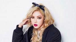 HyunA تؤكد عودتها هذا الشهر