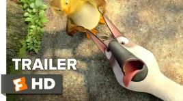 جيم جافيكان أوزة في مهمة صعبة في الإعلان الدعائي لـ Duck Duck Goose